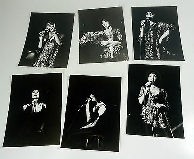 Lot: 6x HELEN SCHNEIDER Promo Presse FOTO Publicity Photo picture