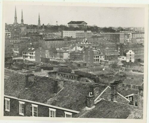 Civil War -- Richmond Pre-Fire -- Reproduction Photo -- Panorama View circa 1865