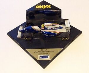 Diecast 1:43 scale onyx williams renault fw16