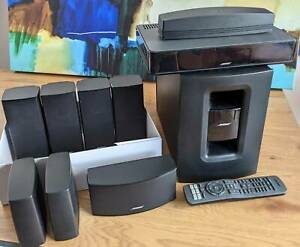 Bose AV520 Home Theatre Speakers with extras