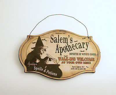 Halloween Decoration Halloween Sign Witch Potions Spells - Witch Spells Halloween