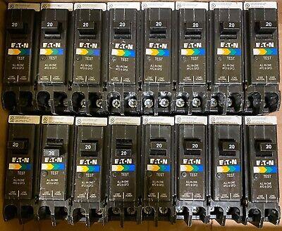 Cutler Hammer Eaton Brp120df Brpafgf120 20a Afcigfci Plug On Neutral New