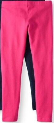 Girls Brand New With Tags Hot Pink Full Length Leggings Pants Size 7-8 NWT ! - Girls Hot Leggings
