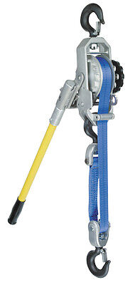 Cmco Little Mule Series 344b Strap Hoist Puller - 1 Ton 2 Ton Capacity