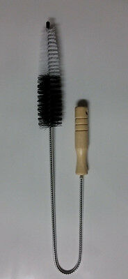 "Extra-Long 29"" Cleaning Brush for Dryer Vent and Refrigerator Coils - Flexible"