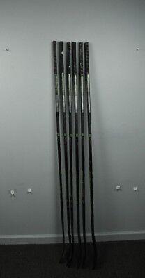 6 Pack Of Used CCM Reckoner Composite Pro Stock Hockey Sticks Flyers Left Raffl