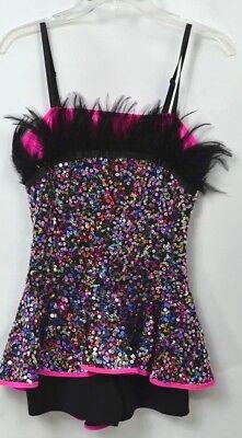 Costume Gallery dance jazz hip hop Dancer Halloween feather Adult 14627 M L NEW](Jazz Dancer Halloween Costumes)
