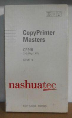 Originale Nashuatec Copyprinter Masters 893996 per CP390 2x0, 64kg Conf. Orig. B segunda mano  Embacar hacia Argentina