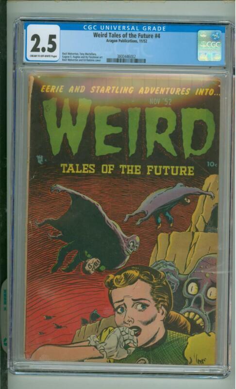 Weird Tales Of The Future #4 CGC 2.5 Basil Wolverton Art 1952