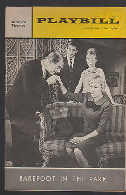 Barefoot in the Park Playbill January 1966 Judd Hirsch Anthony Roberts