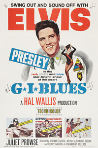 G-I-BLUES-ELVIS-PRESLEY-Classic-Movie-Poster-A1A2A3A4-Sizes