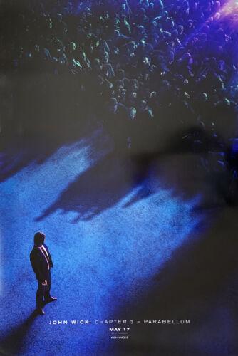 JOHN WICK CHAPTER 3 PARABELLUM MOVIE POSTER 2 Sided ORIGINAL Advance 27x40