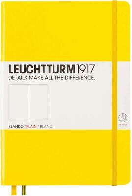 LEUCHTTURM 1917 SKETCHBOOK - A5 Size, 180gsm white paper. HTF color Lemon
