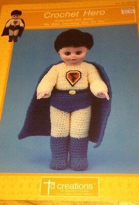 Винтажные 1989 TD Creations Crochet Hero