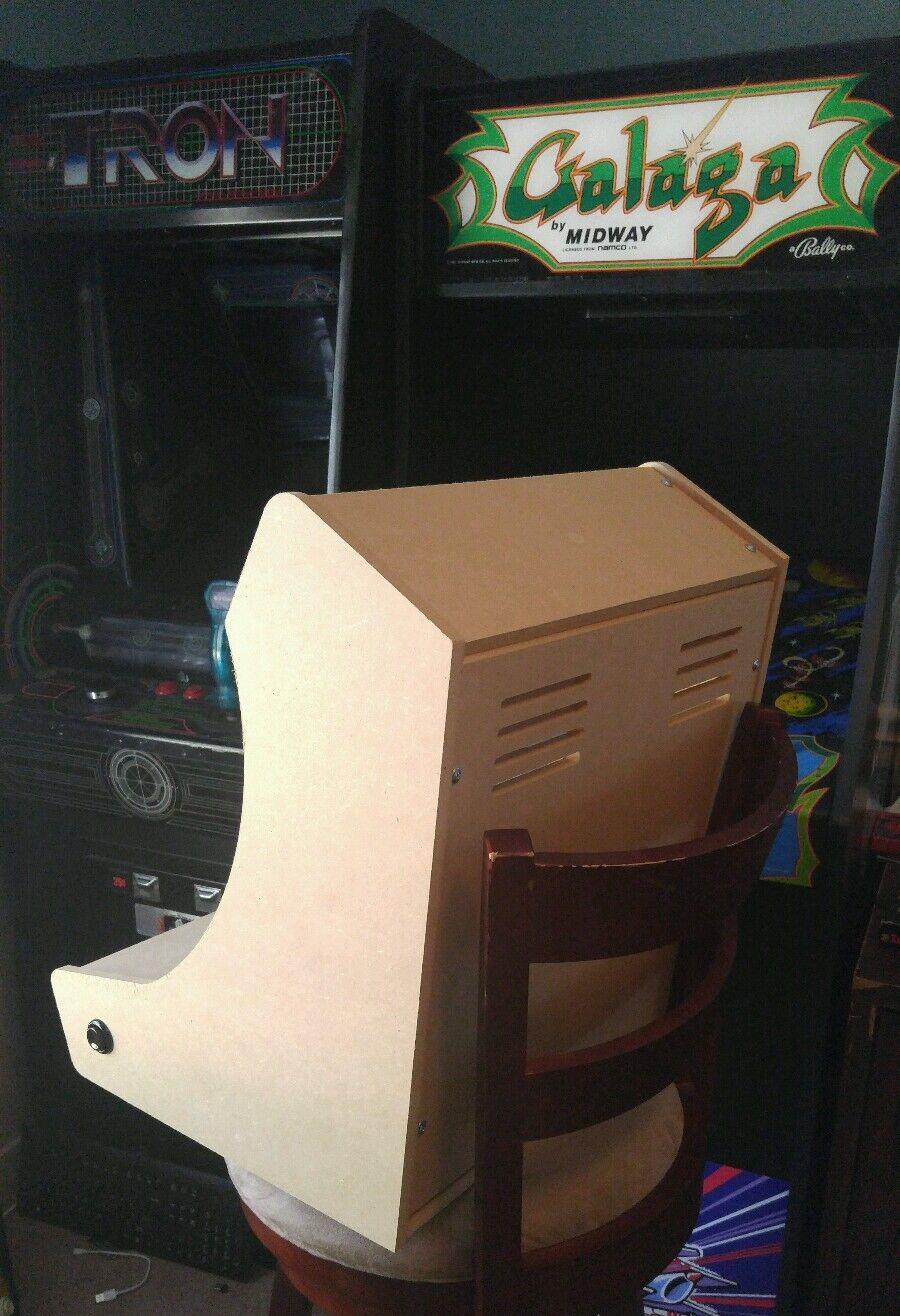 bartop   tabletop arcade cabinet diy kit flat pack mdf w