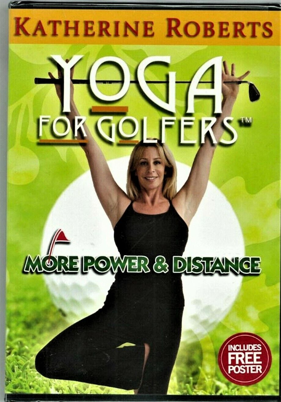 NEW DVD Katherine Roberts YOGA FOR GOLFERS, More Power Distance, - $7.25