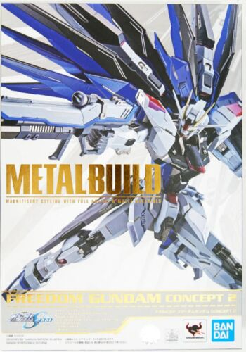 IN STOCK! Metal Build Mobile Suit Gundam SEED ZGMF-X10A Freedom Gundam Concept 2