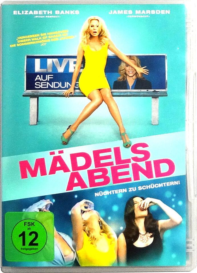Film DVD's: Mädelsabend - Nüchtern zu schüchtern (FSK 12) in Hessen - Wiesbaden