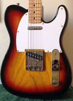 Fender Telecaster '71 Reissue MIJ Sunburst