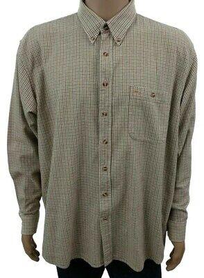 Camicia Mcgregor da uomo taglia XL a manica lunga in cotone qudretti invernale