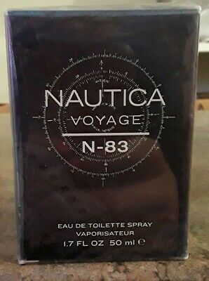 Nautica Voyage n83 Body Spray, 1.7 Fluid Oz Eau De Toilette Spray Cologne (C)