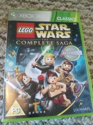 Lego Star Wars The Complete Saga Xbox 360 UK PAL (Classics) **PLAY ON XBOX ONE**