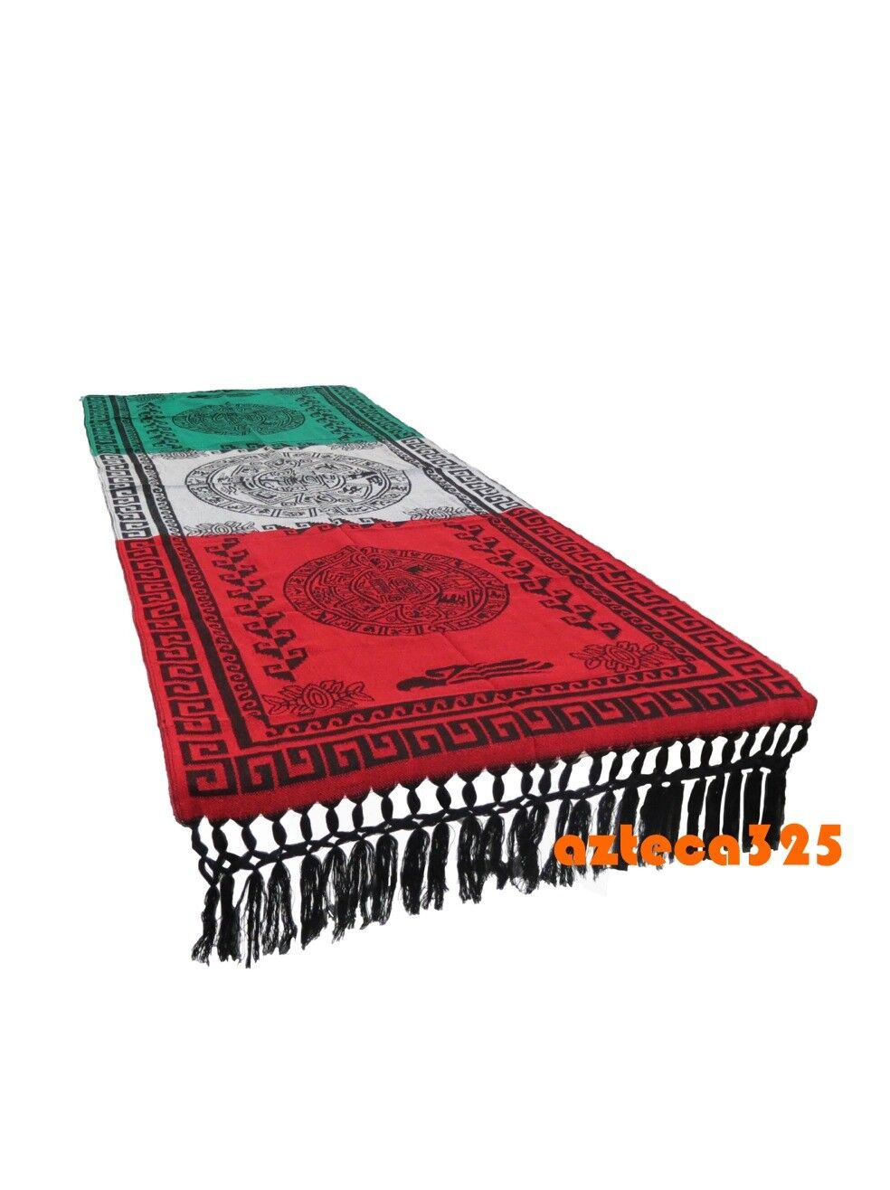 mexican table runner bandera 78 x29