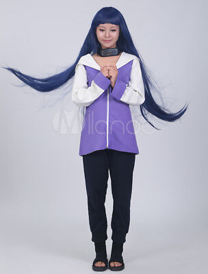 Halloween Costumes girls Japanese Anime Naruto Hinata Hyuga cosplay without wig (Japanese Anime Costumes Halloween)