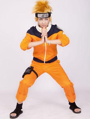 Anime Naruto Shippuden Uzumaki Naruto Halloween Cosplay Costume - Anime Cosplay Costume