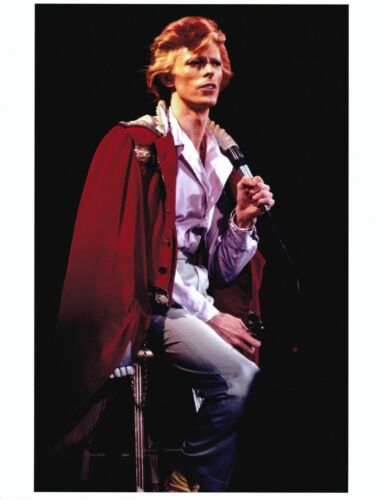 DAVID BOWIE 8.5 x 11 Incredible Classic Color Photo # 2