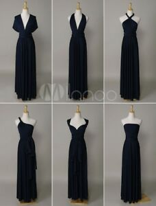 Navy convertible bridesmaid dress