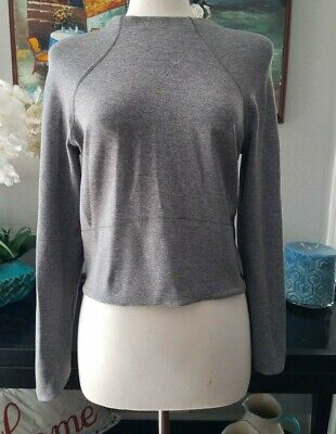 LULULEMON PULLOVER  SWEATER NAVY BLUE SZ 8
