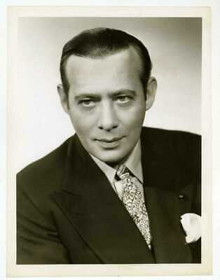 Phil Baker host of Take It or Leave It 1940s or 1950s Original TV Photo