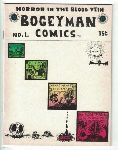 Bogeyman Comics #1 VF- (1st) print - rory hayes - underground comix 1969 horror