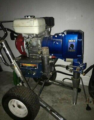 Graco Gmax Ii 5900 Honda Gaz Airless Paint Sprayer 2499. Obo