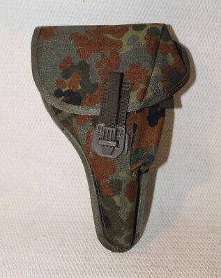 Holster, Pistolentasche für 9mm Walther P1/P38.Bundeswehr neu, mit Koppeladapter