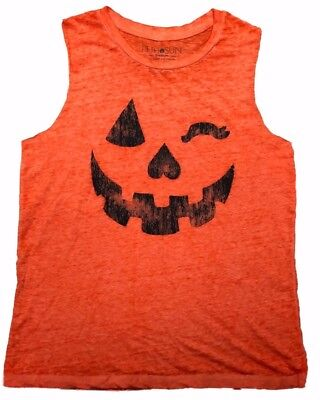 Winking Pumpkin Halloween Shirt Women's Vintage Shirt Top NWT  - Women's Halloween Shirts