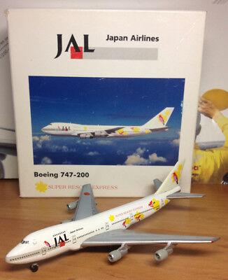 Herpa Wings 502436 B747-400 Japan Airlines