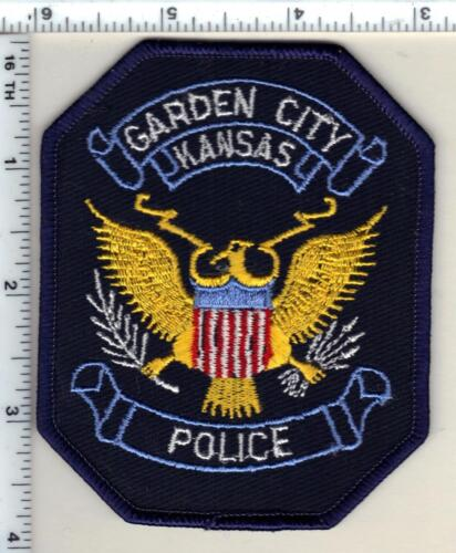 Garden City Police (Kansas) Shoulder Patch - new from 1992