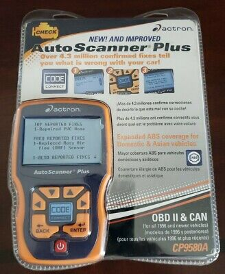 ACTRON CP9580A AUTO SCANNER PLUS
