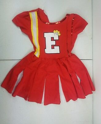 Disney High School Musical Cheerleader Size M 5-7   Fantasy Play Costume T2 (High School Musical Costume)