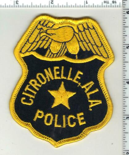 Citronelle Police (Alabama) 3rd Issue Shoulder Patch