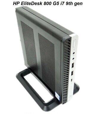 HP 800 EliteDesk G5 35w mini desktop PC i7 9th gen 8GB RAM 256GB SSD 3772