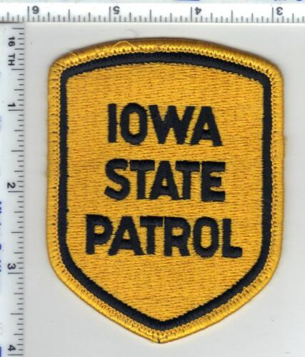 State Patrol (Iowa)  Uniform Take-Off Shoulder Patch - from the 1980