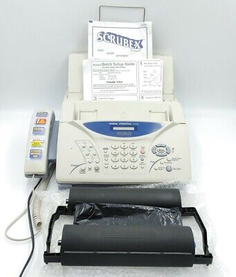 Brother Intellifax 1270e Fax Phone Copier Machine Fax Good Condition Works