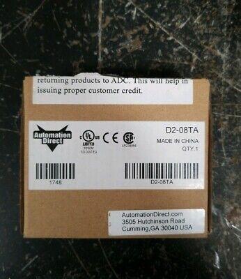 Plc Direct D2-08ta New In Box