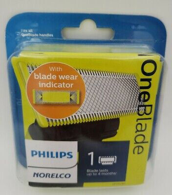 Genuine Philips Norelco OneBlade Replacement Blade, 1 Cartridge ☆ New, Sealed ☆