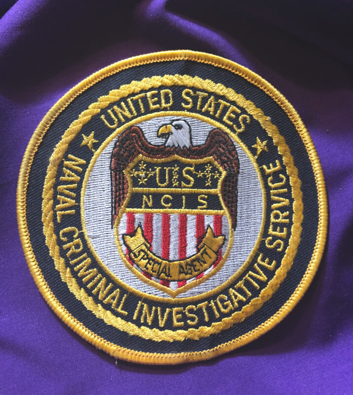 UNITED STATES NAVAL CRIMINAL INVESTIGATIVE SERVICE NCIS POLICE PATCH