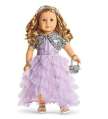 American Girl TRULY ME FROSTED VIOLET GOWN for 18