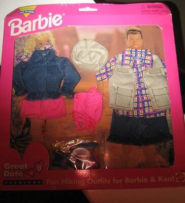 Barbie And Ken Great Date Fashions Hiking Outfits New In Pkg Zendaya Barbie